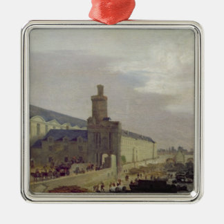 Galerie du Louvre and the Porte Neuve, c.1640 Christmas Ornament