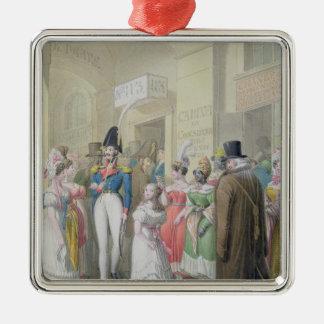 Galeries du Palais-Royal, from 'Tableau de Christmas Ornament