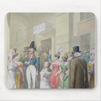 Galeries du Palais-Royal, from 'Tableau de Mouse Mat