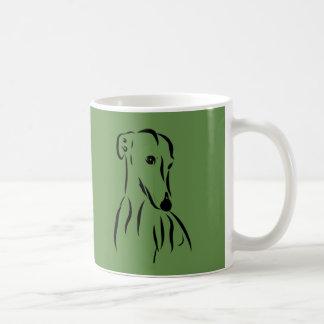 Galgo love coffee mug