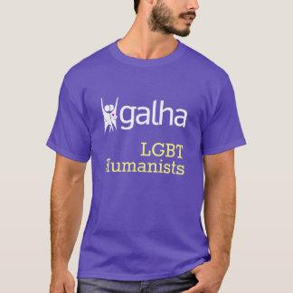 Galha LGBT Humanists T1 T-Shirt