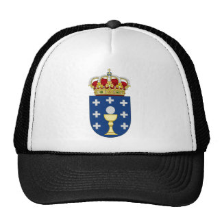 Galicia (Spain) Coat of Arms Trucker Hat