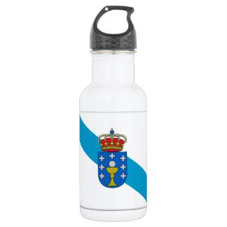 Galicia (Spain) Flag 532 Ml Water Bottle