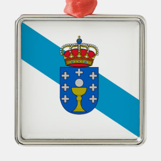 Galicia (Spain) Flag Christmas Ornament