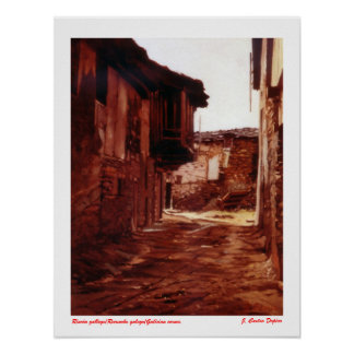 Galician corner/Recuncho galego/Galician corner Print