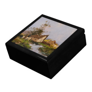 Galien France Countryside Stream Cottage Gift Box
