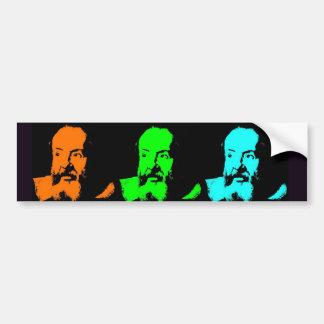 Galileo Collage Bumper Sticker