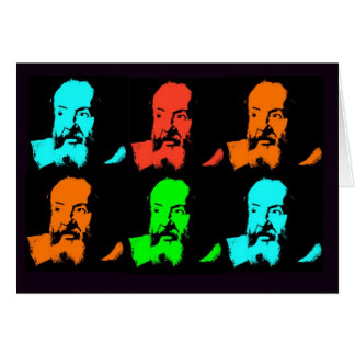 Galileo Collage Card