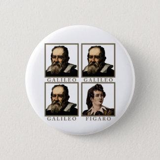 Galileo Figaro 6 Cm Round Badge