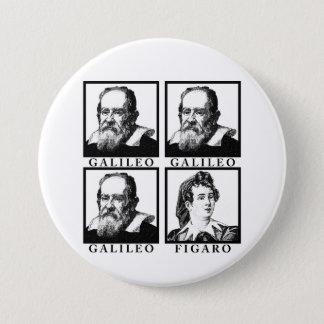 Galileo Figaro BW 7.5 Cm Round Badge