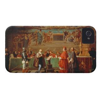 Galileo Galilei (1564-1642) before members of the iPhone 4 Case