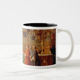 Galileo Galilei (1564-1642) before members of the Two-Tone Coffee Mug