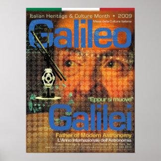 Galileo Galilei Poster