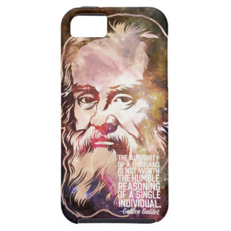 Galileo Galilei Quote iPhone 5 Case