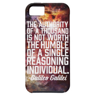 Galileo Galilei Quote iPhone 5 Covers