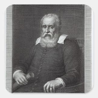 Galileo Galilei Square Sticker