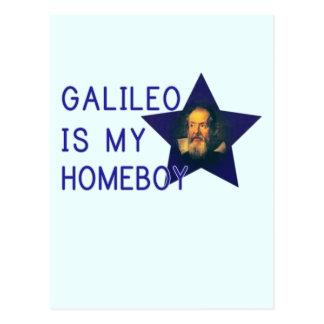 Galileo is my Homeboy Post Card