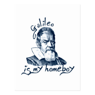 Galileo is My Homeboy Postcard