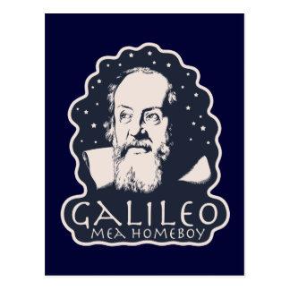Galileo Mea Homeboy Postcard