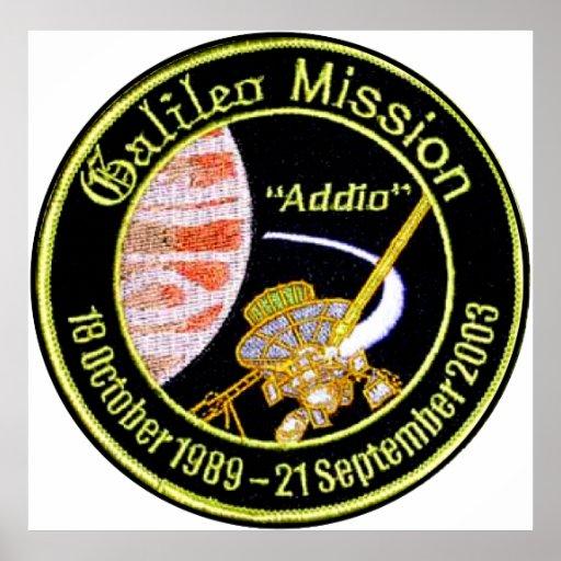 Galileo Mission to Jupiter Poster