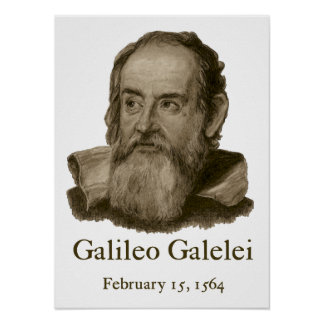Galileo Poster Posters