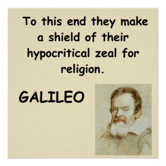 Galileo quote print