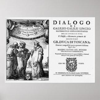 Galileo s Dialogo Poster