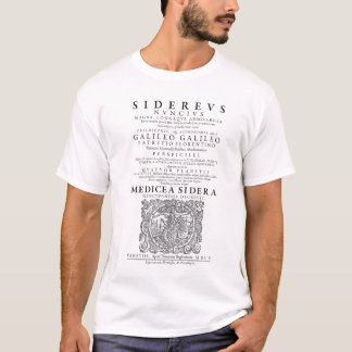 Galileo Sidereus Nuncius Shirt