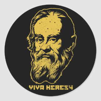 """Galileo """"Viva Heresy"""" Sticker Packs"""