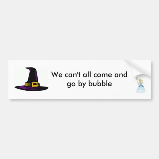 Galinda WICKED Bumper Sticker