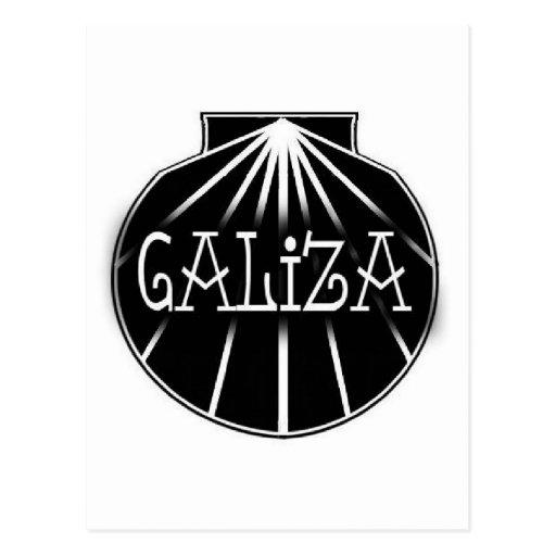 galiza postcard