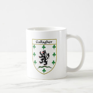 Gallagher Coat of Arms/Family Crest Coffee Mug
