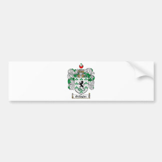 GALLAGHER FAMILY CREST -  GALLAGHER COAT OF ARMS BUMPER STICKER
