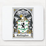 Gallagher Family Crest Mouse Pad