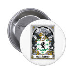 Gallagher Family Crest Pinback Button