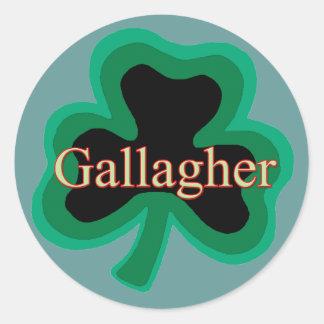 Gallagher Family Classic Round Sticker