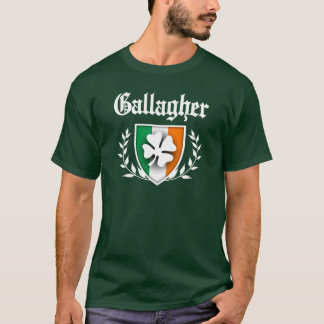 Gallagher Shamrock Crest T-Shirt