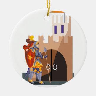 Gallant Knight Christmas Ornament