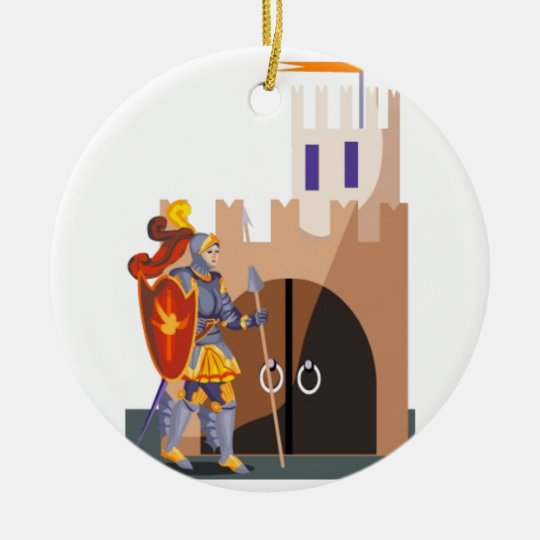 Gallant Knight Christmas Ornament