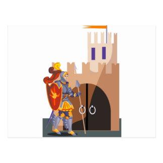 Gallant Knight Postcard