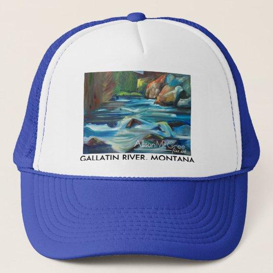 Gallatin River, Montana Trucker Hat