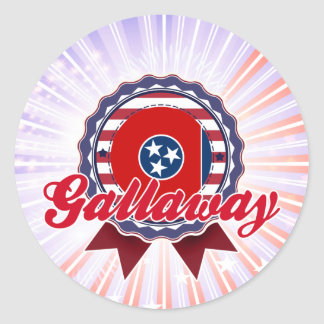 Gallaway TN Stickers