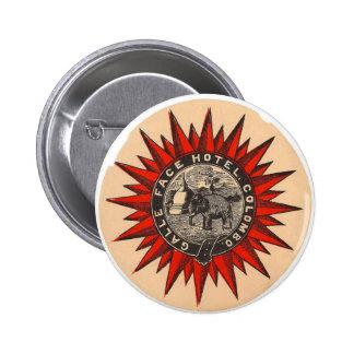 Galle Face Hotel Retro  Label tButton Pins