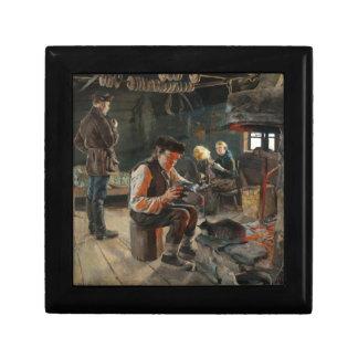 Gallen-Kallela's Allmogelif gift / jewelry box