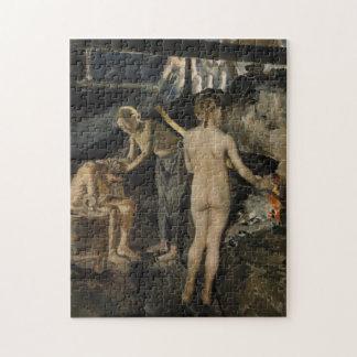 Gallen-Kallela's Sauna puzzle