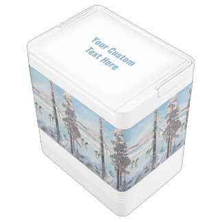 Gallen-Kallela's Skaters custom cooler Igloo Cool Box