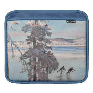 Gallen-Kallela's Skaters iPad sleeve
