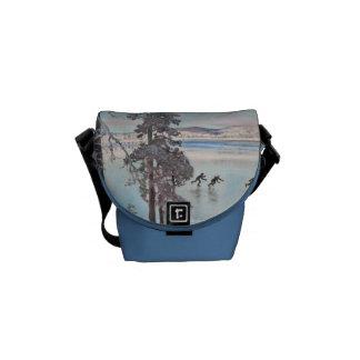 Gallen-Kallela's Skaters messenger bag