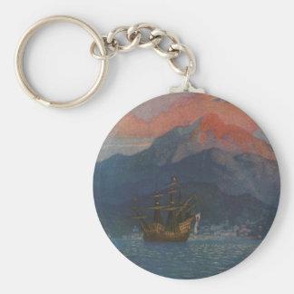 Galleon on the Spanish Main Keychain