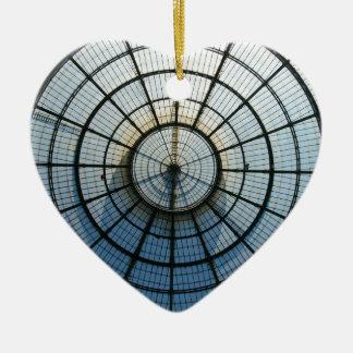 Galleria Vittorio Emanuele Ceramic Heart Decoration